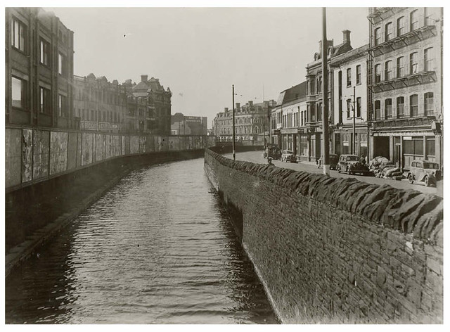 Glamorganshire canal, Mill lane, C.1940