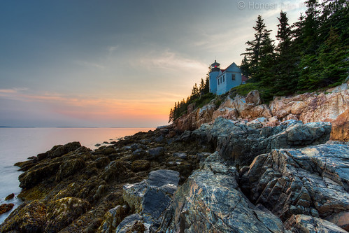 park sunset lighthouse seascape canon landscape harbor bass maine hdr arcadia 6d 2015