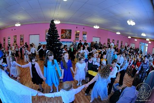 Рождественский концерт в школе 340