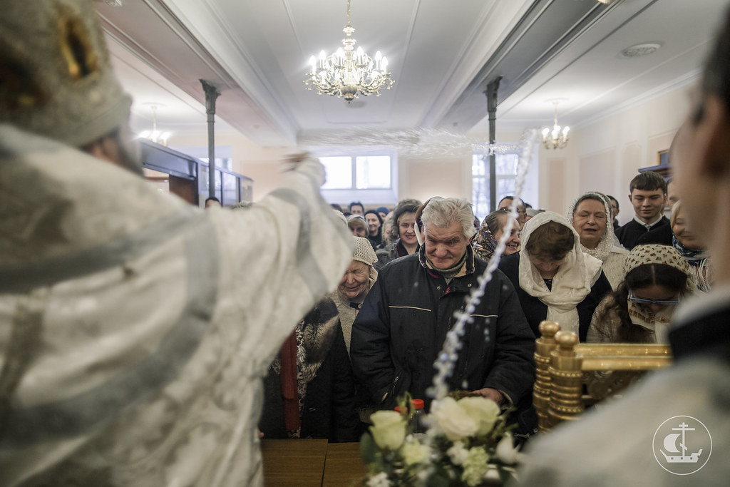 19 января 2017, Крещение Господне / 19 January 2017, Baptism of the Lord