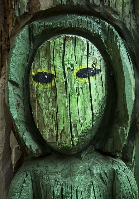 Alien Wearing Hoodie