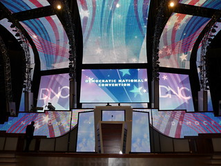 Democratic National Convention stage | by vard