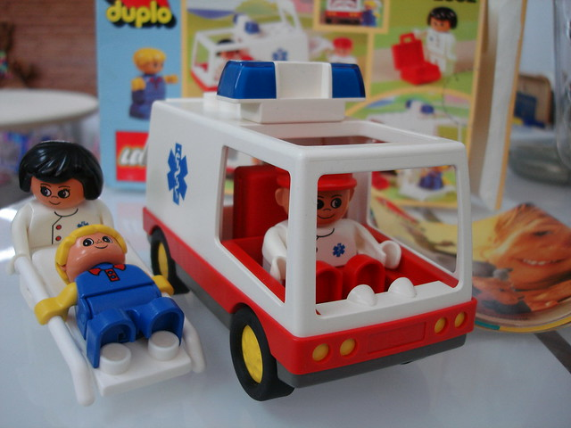 Duplo Ambulance By Lego This Is A Very Nice Set By Duplo A Flickr