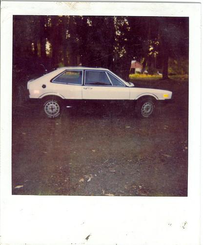 1977 scirocco polaroid