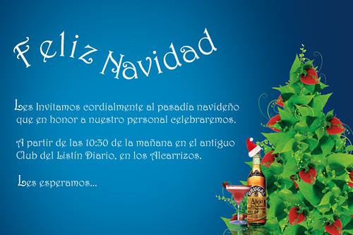 Tarjeta Invitacion Navidad Nueva Lorenzo Gonzalez Flickr