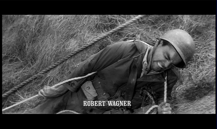 The Longest Day (1962) | Robert Wagner as a U S  Army Ranger