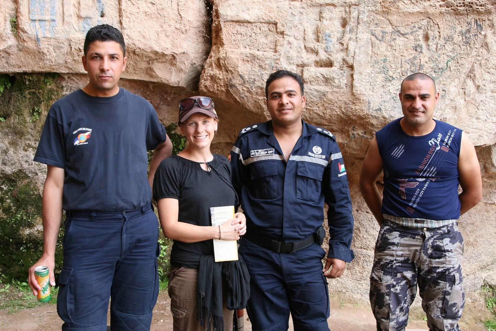 The Jordan Search and Rescue Team