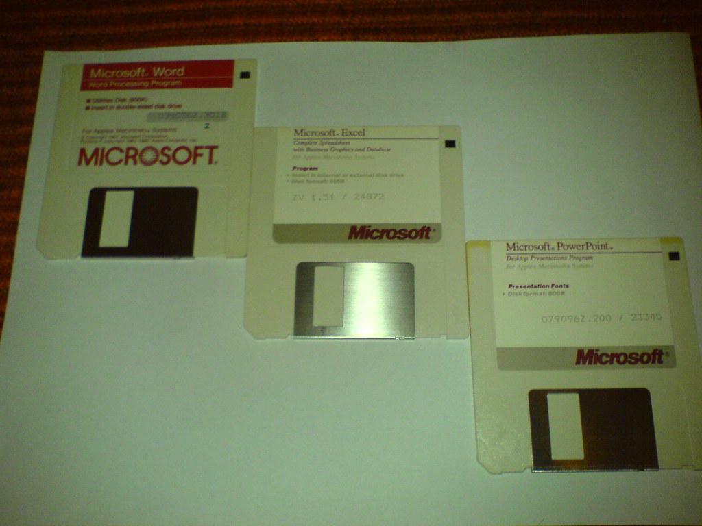 Old school Microsoft Office