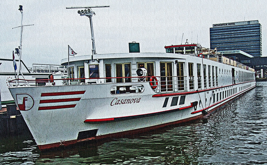 MS Casanova / Peter Deilmann Reederei  / Docked at Amsterdam