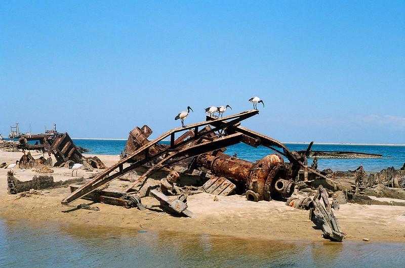 barco oxidado
