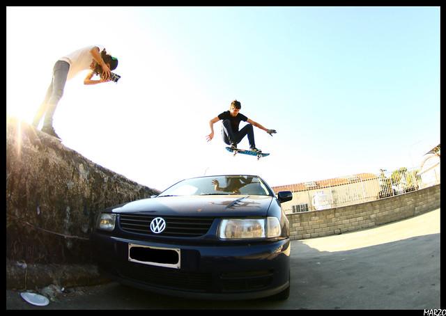 Matt car ollie gap