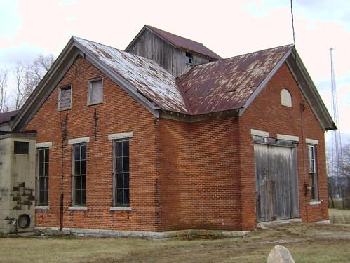 county school ohio house brick abandoned oklahoma rural one washington decay room 4 number forgotten schoolhouse preble 1890 township