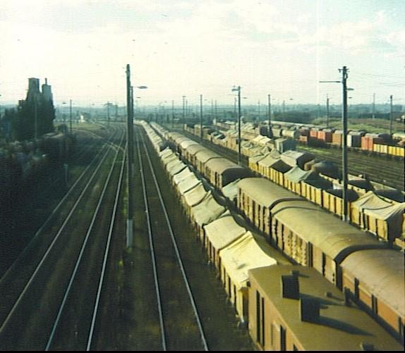 North Geelong Yard 9 & Nth Geelong C Signal Box, c 1978 by MurrayJoe
