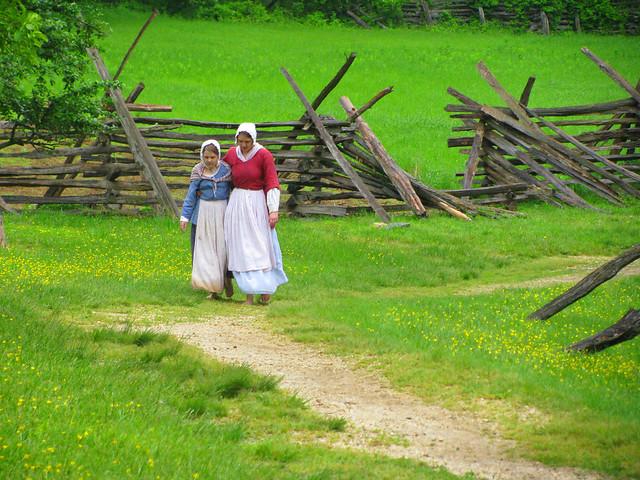Colonial Farmers at Claude Moore Colonial Farm