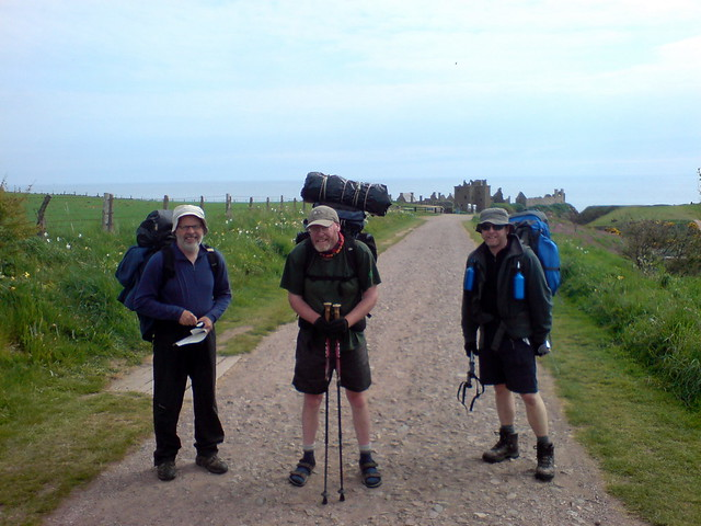 Track to Dunnottar