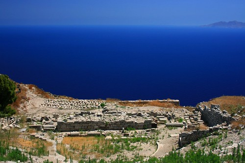 Theater at Ancient Thira | by Navin75
