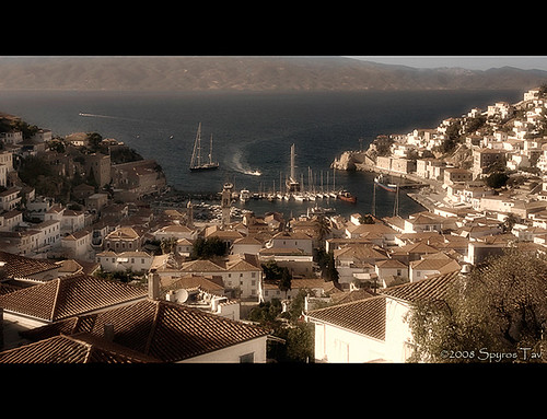 Hydra island, the noble lady of the Argosaronic sea