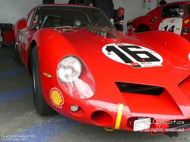 Le Mans Classic 2008 Ferrari 250 GT Breadvan 1962