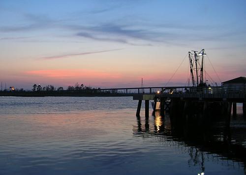 sunset pier nc dock wilmington