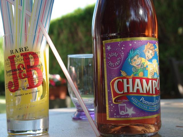 J&B or Champomy
