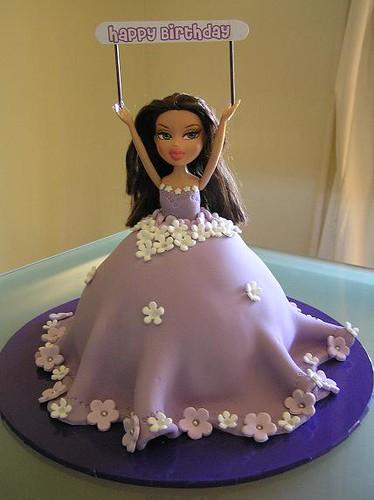 Remarkable Beautiful Bratz Doll Cake A Cake For A Bratz Fan Flickr Personalised Birthday Cards Akebfashionlily Jamesorg