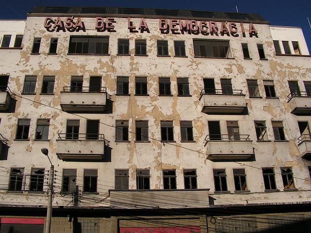 casa de la democrcia - bolivia