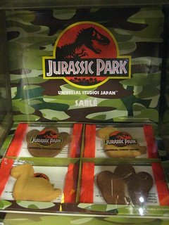 Jurassic Park Cookies   by Wootang01