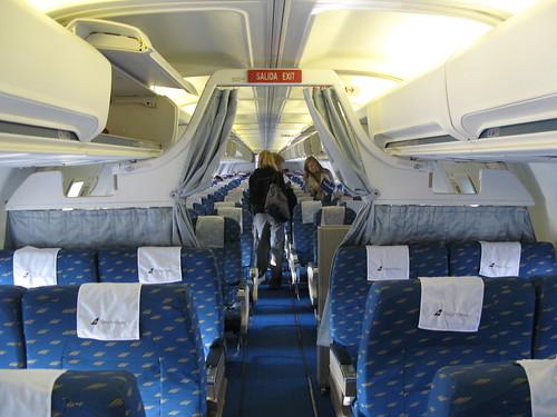 plane airplane geotagged inflight cabin sweden stockholm interior aircraft aeroplane passengers aisle sverige boeing boarding onboard 757 businessclass icelandair boeing757200 sagaclass geo:lat=59652956 geo:lon=17930224