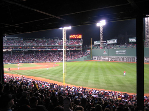 Nighttime at Fenway Park