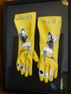 no dishpan hands in Harveyville