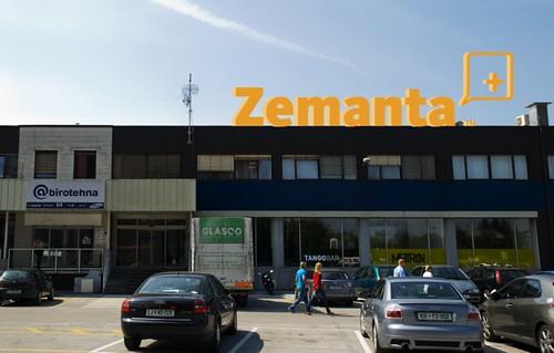 Zemanta Ltd. HQ Sign | by Peter Čuhalev
