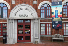 Greensboro Historical Museum Entrance