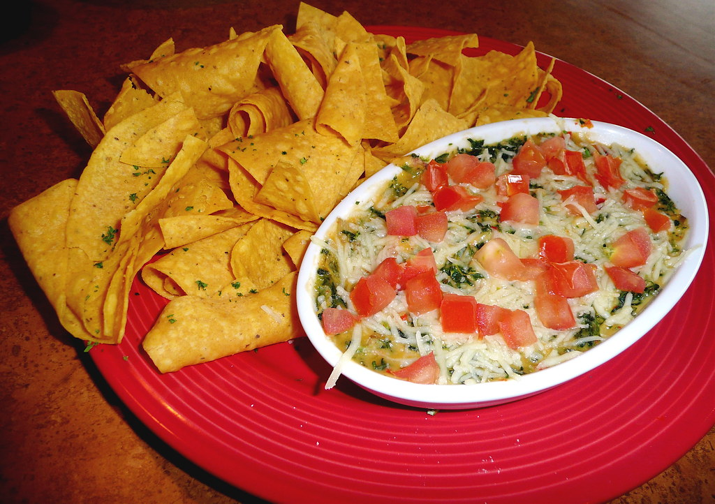 Spinach And Artichoke Dip With Tortilla Chips At Tgi Frida Flickr