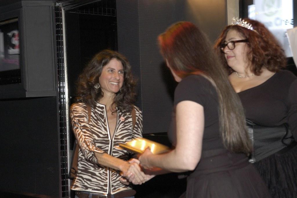 Jill Bauer | Sex-Positive Journalism Awards party www