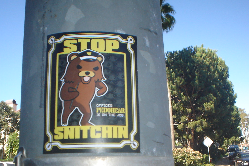 OFFICER PEDOBEAR HATES YOU | /b/ | synical dj | Flickr