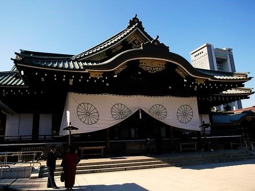 靖国神社拜殿