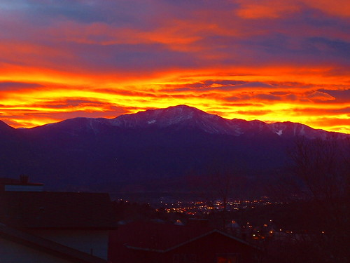 SUNSET OVER PIKES PEAK | by mikeb_80918