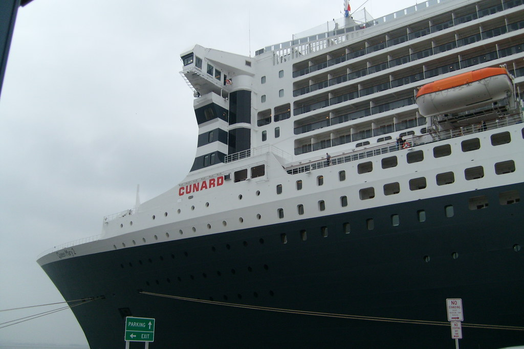 Queen Mary 2 | Red Hook Terminal, conclusion of our memorabl