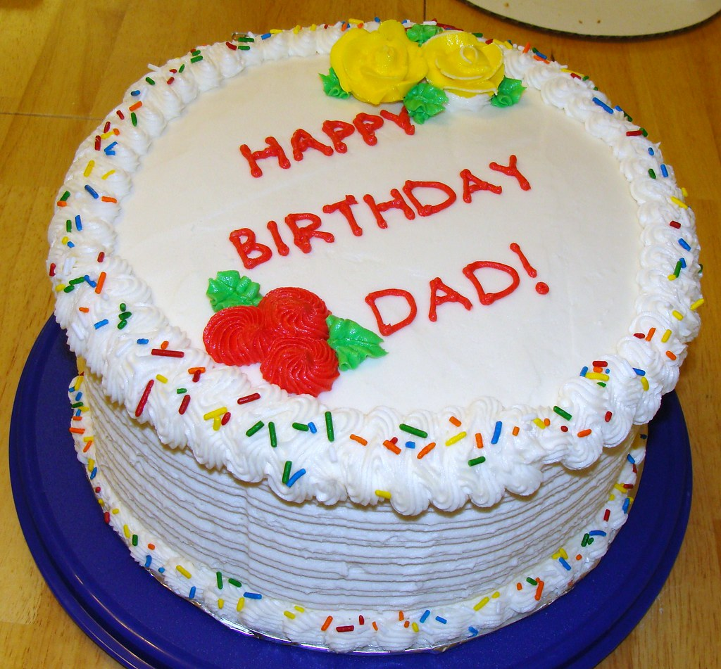 My Dads 60th Birthday Cake