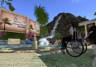 Virtual Ability Island Opening