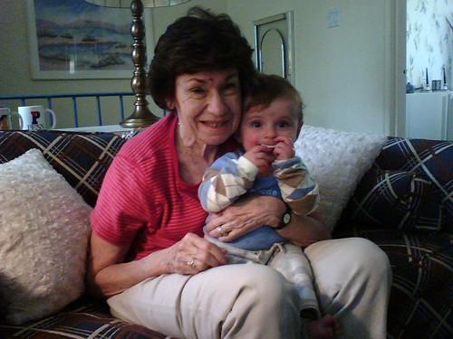 Evan and Grandma Jean