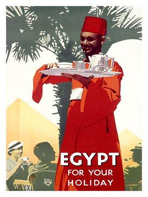 Egypt For Your Holiday A Vintage Tourism Ad From Egypt Flickr