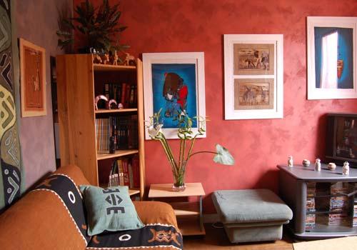 Idée déco salon africain   Décoration africaine   Flickr