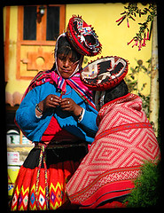 Peruvian Women, Sacred Valley