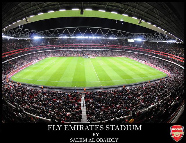 FLY EMIRATES STADIUM | FLY EMIRATES (ARSENAL) STADIUM 60,000… | Flickr