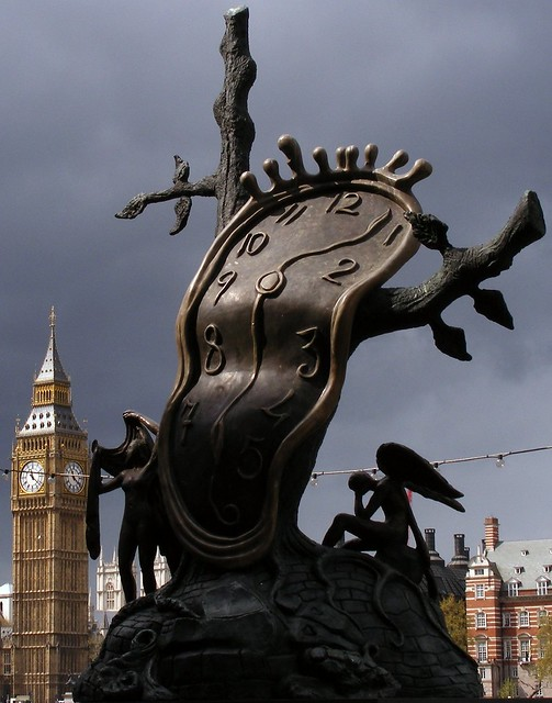 Houses of parliment / dali / london