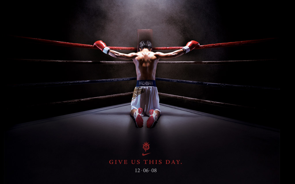 Give Us This Day Manny Pacquiao Desktop Wallpaper By Nike Flickr