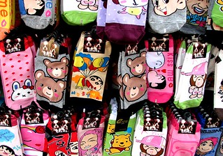 Socks in Dongdaemun market, Seoul | by Todd Mecklem