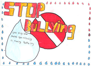 Anti Bullying poster by Harrogate High School - Bullying UK