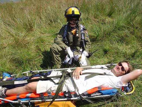 Tue, 12/07/2005 - 14:23 - Darth Vader and his victim, Pic - Pete Bursnall
